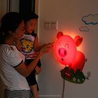 Children's Day incandescent decor lights for kids room decortation