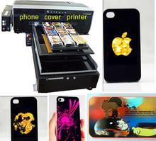 phone case printer/mobile phone cover printing machine,A3 size UV LED Flatbed Printer,3D printer