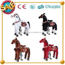 HI amazing price toy horses to ride,wooden horse toys