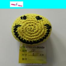 Tejer bolas de malabares pelota de juguete woven poli sacos