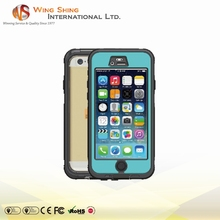 High quality waterproof mobile phone case, waterproof case for iphone 6 plus