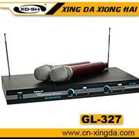 GL-327 wireless microphones karaoke voice recorder