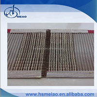 Movable joints PTFE Teflon Coated surface conveyor belt