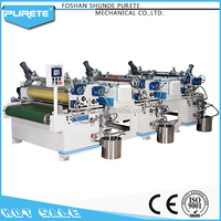 High quality practical three color printing machine silk screen machine