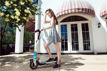 Dos ruedas de vehículos eléctricos alta velocidad