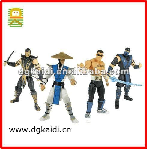 Artículo caliente de la venta Mortal Kombat figuras juegos para los niños