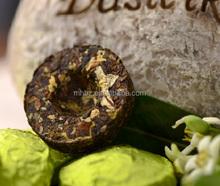 Pure nature Jasmine Flower blended pu-erh Tea