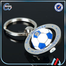 Beautiful fashion antique football keyring for promotional gifts