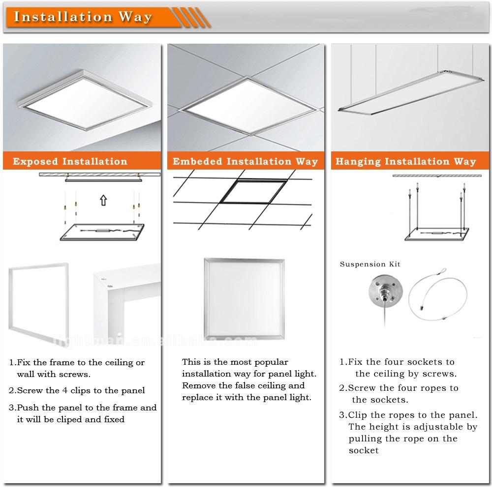 60x60 led office lighting