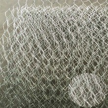 Factory direct wholesale galvanized double twisted hexagonal wire mesh gabion mesh