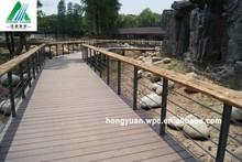 140*20mm Outdoor Engineered Flooring Type WPC, Decorative Wood Plastic Composite