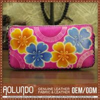 Latest Design Customized European Leather Wallet For Women