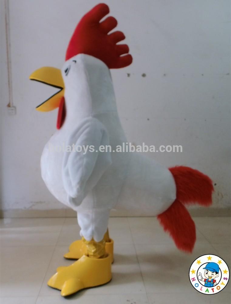 Costume gallo/pollo costume/mascotte adulto costume
