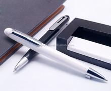 black plastic promotional ballpoint pen