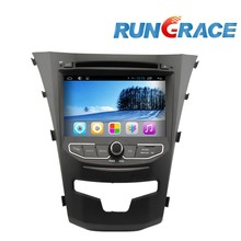 ssangyong korando android 2 din car dvd player gps radio