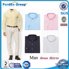 fabricante de ropa de hombre vestido de camisa de los hombres