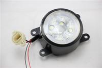 12V/24V 12W Waterproof Offroad Led Work Light/Work lamp Led fog light for Toyota 86 Special LED Foglight With Angel Eyes
