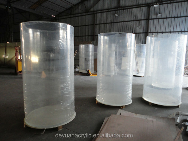 wholesale acrylic tube/large diameter acrylic tube