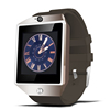 LCD touch screen DZ09 Bluetooth smart watch for iPhone Samsung Android phone