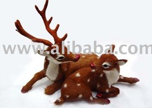 Fur Animal craft, Fur handicraft, fur gift and craft,