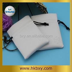 5X7cm Light Grey Drawstring Velvet Small Pouch