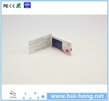 2.4inch mini LCD electric digital video business card