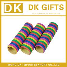 Printing crepe paper streamers