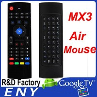 MX3 2.4g Mini Keyboard Air Mouse Receiving Range 10 Meter Wireless Mouse