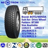 2015 BOTO YOTO brand new truck bus drive tyre 315 70 22.5