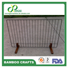 PF90 90*50*18cm china factory mobile Bamboo pet gate pet fence