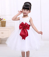 China wholesale baby clothes 2016 summer dresses for baby girl 7 color in stock