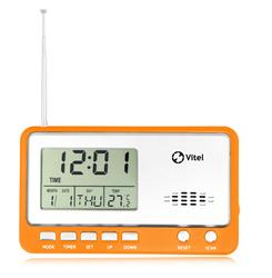 rca am fm clock radio with usb