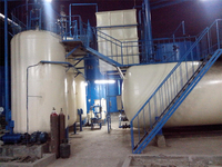 2015 High efficiency 50T/D waste oil distillation plant for sale with CE ISO