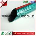 PVC Fibra reforzada manguera agua jardín