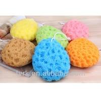 China baby bath scrub sponge pad wholesale