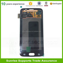OEM Replacement Mobile Phone Spare Parts For Samsung Galaxy S6 Lcd