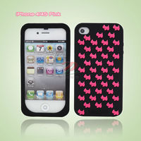 Silicone case little dogs series for phone 4 4s phone 5, 4G, 5G cases from shenzhen