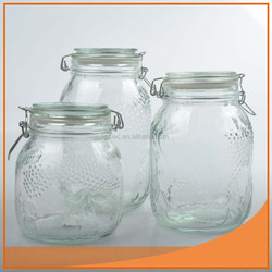 Clear good glass cream jar From China