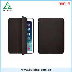 Smart Flip Cover for iPad mini 4 / For iPad mini 4 folding stand leather case for iPad mini 2 3 4
