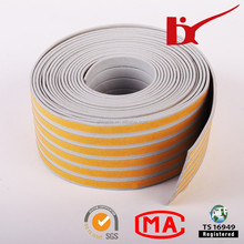 epdm rubber edge seal strip against water/wind/dust/noise