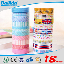 Latest technology best sale in Yiwu supermarket Colorful Party/Gift Decoration/Holiday/Washi Tape