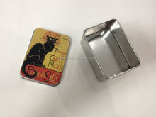 food safe treasure chests shape tin box for gift with FDA certificate