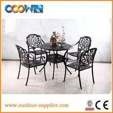 white black cast aluminum garden furniture white,fairy garden furniture