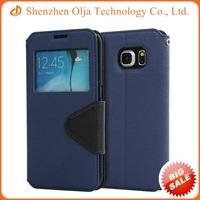 Olja leather flip cover case for samsung galaxy s4 mini