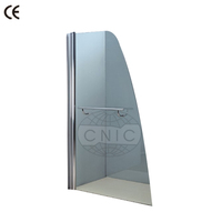 Cheap price easy install portable shower screen