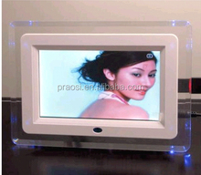 low price motion sensor frame,auto play photo,music,video when people come near