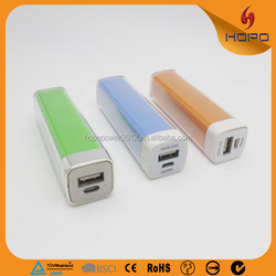 Promotional The Latest Gift Mobile Power Supply 2600mah,Supporting Paypal