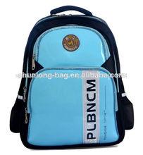 2014 chunlong británico chico estilo de bolsa de la escuela mochila para los adolescentes