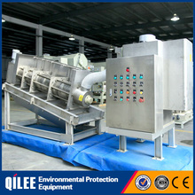fully automatic small size screw filter press