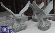 wholesale blue stone eagle sculptures